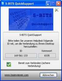 S-BITS QuickSupport